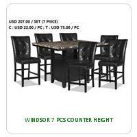 WINDSOR 7 PCS COUNTER HEIGHT